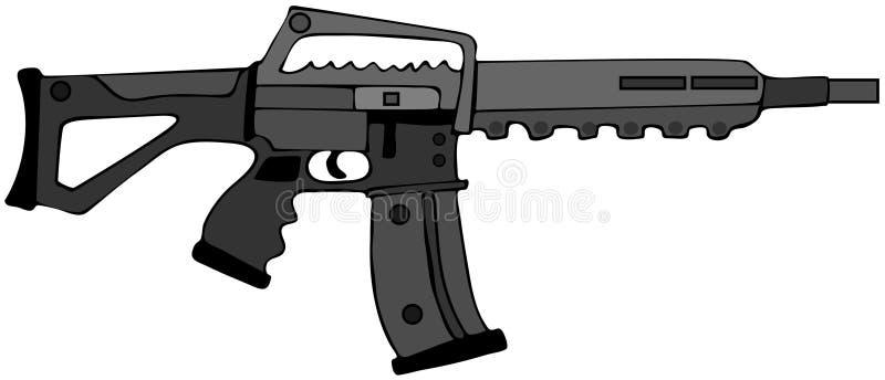 Assault Rifle Royalty Free Stock Photo