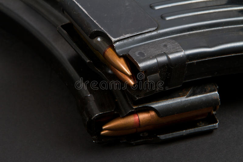Assault rifle AK-47 stock photos