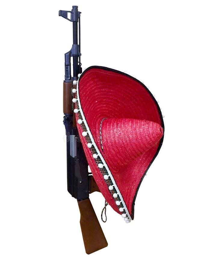 assault rifle AK-47 stock photo