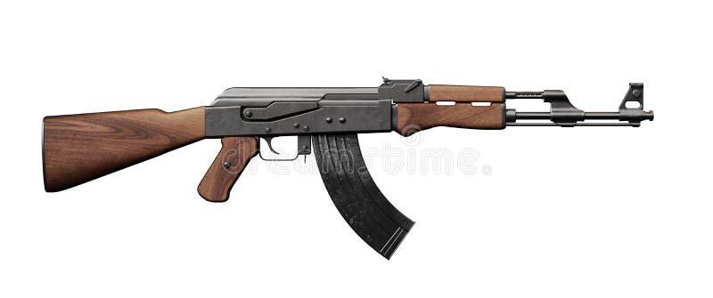 Assault rifle royalty free stock image