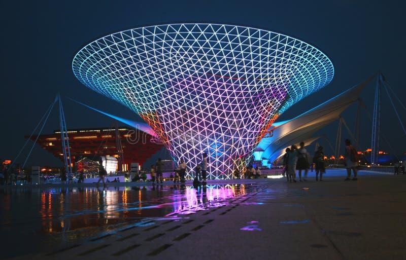 Asse 2010 di Schang-Hai dell'Expo del mondo immagini stock libere da diritti