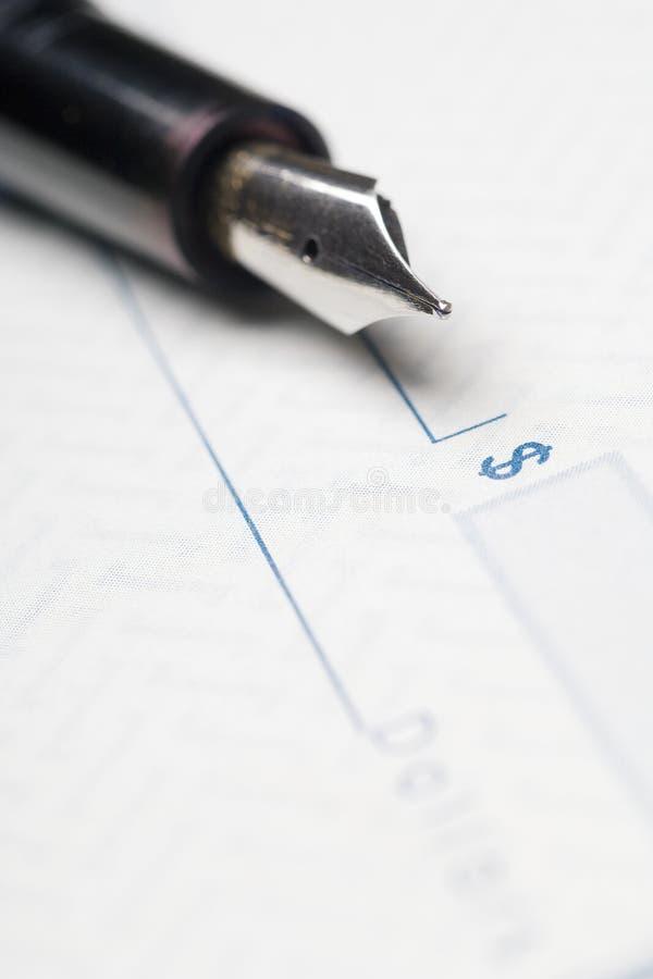 Assegno immagine stock libera da diritti