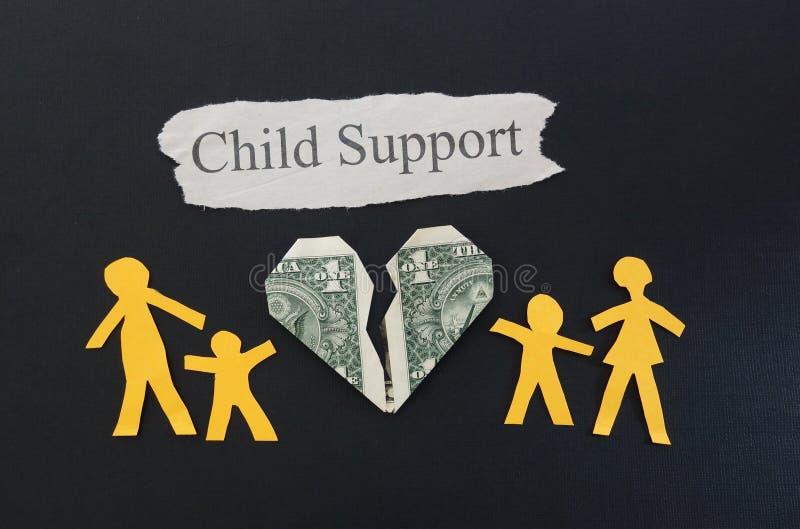 Assegno familiare per i figli immagine stock libera da diritti