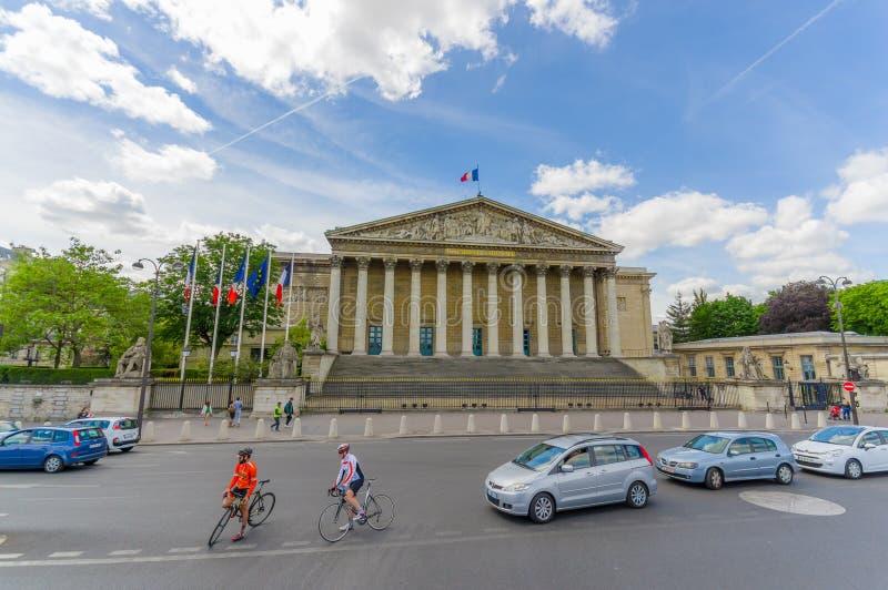 Assemblee Nationale, Nationale assemblee, Parijs royalty-vrije stock foto's