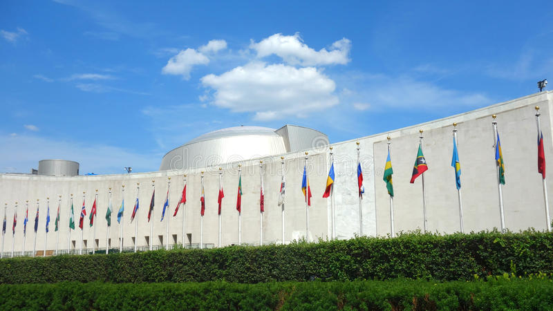 Assembleia geral de United Nations fotografia de stock royalty free