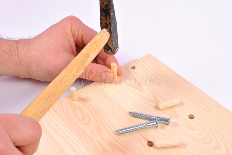 Download Assembling furniture stock photo. Image of incomplete - 32199874