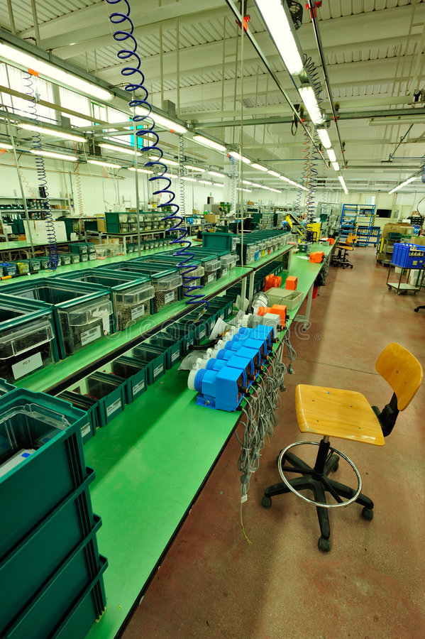 Assembly Line Stock Image