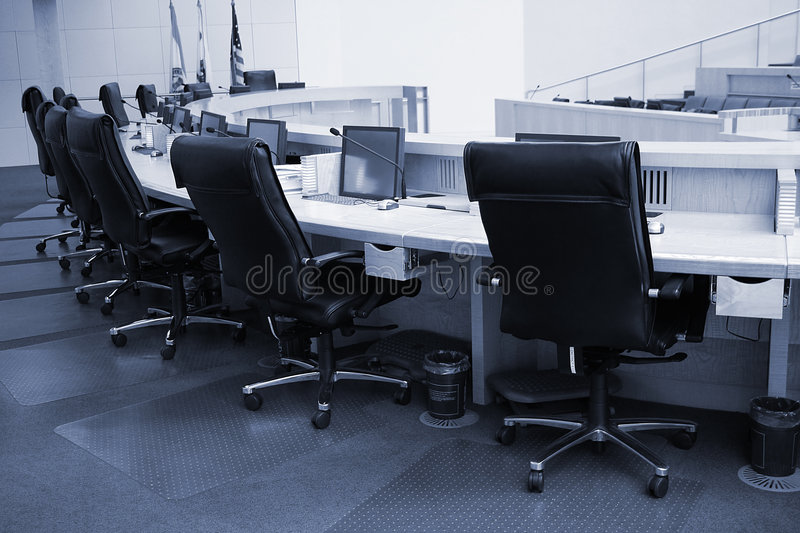Assembly Room royalty free stock photography