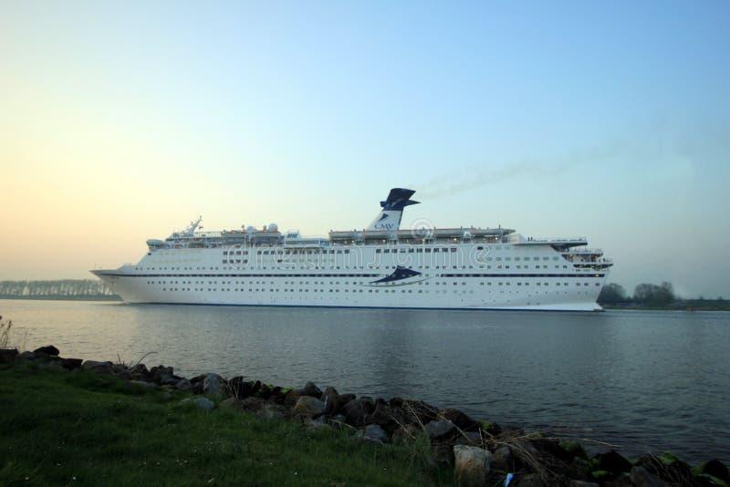 Assendelft, os Países Baixos - abril, 20 2018: MS Magellan imagem de stock royalty free