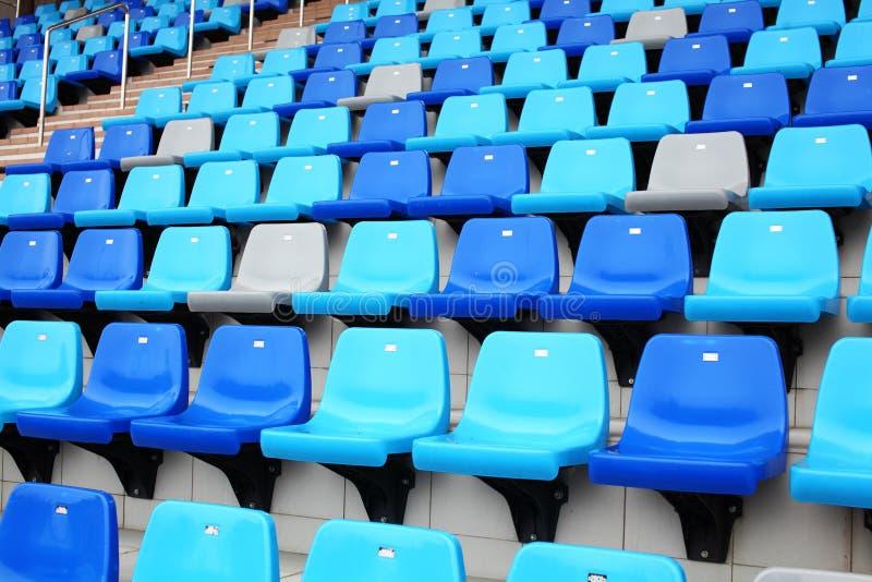 Assento da audiência no estádio foto de stock