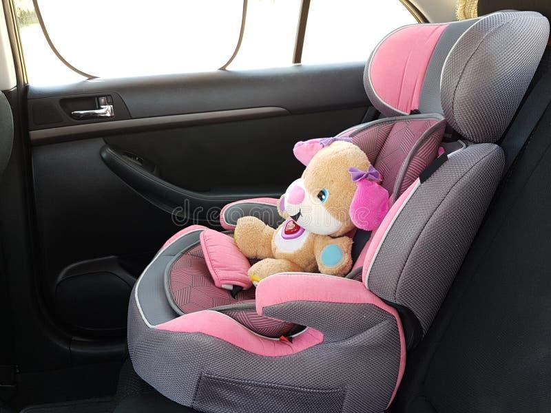 Assento da segurança do carro para o bebê fotografia de stock