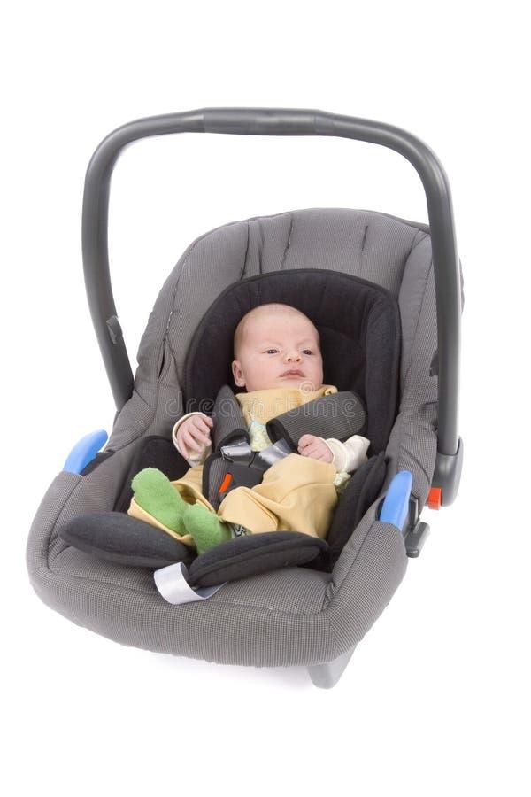 Assento de carro da criança imagem de stock