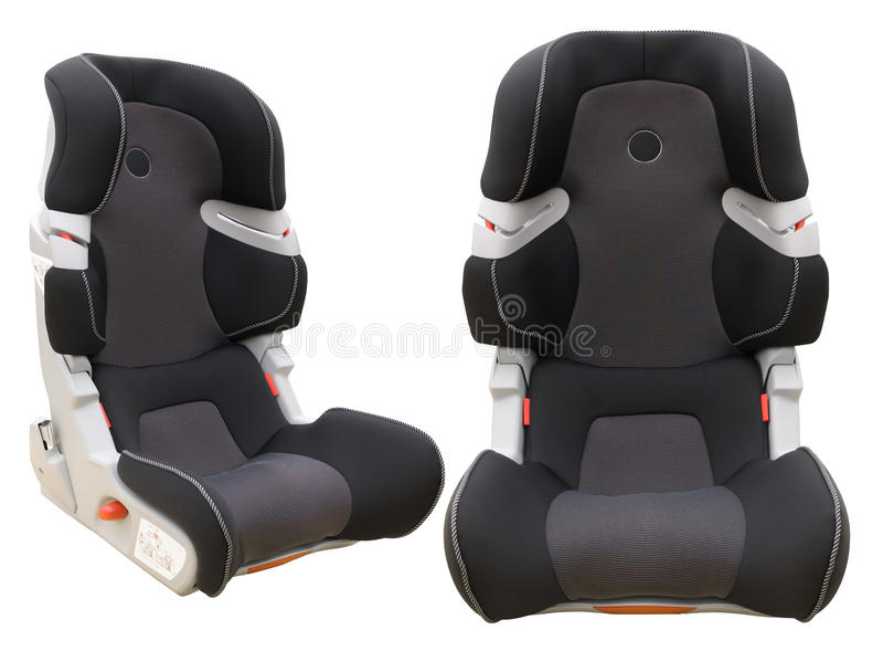 Assento de carro da criança da segurança fotos de stock