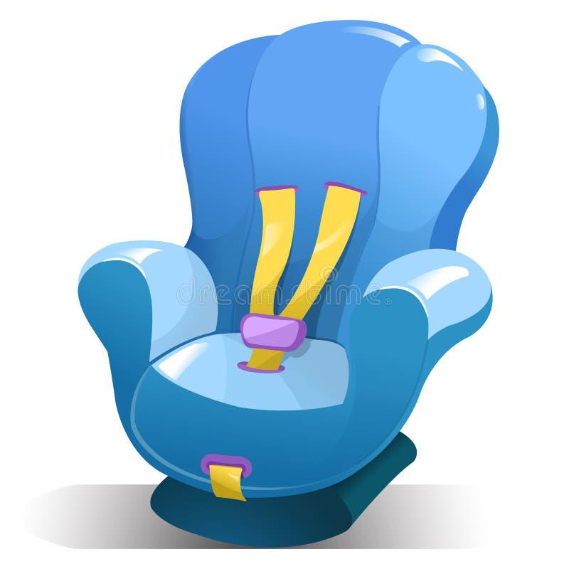 Assento de carro do bebê ilustração do vetor