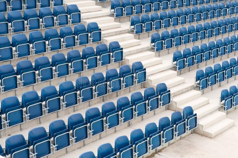 Assento do campo de tênis imagem de stock royalty free