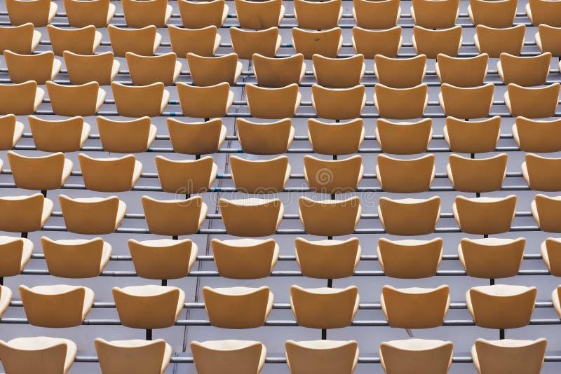 Assento do estádio foto de stock