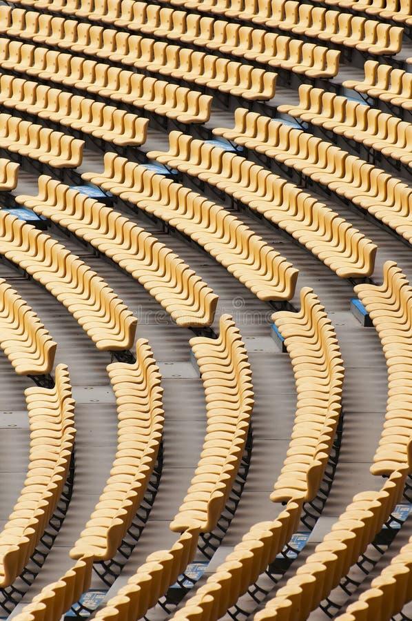 Assento do estádio imagem de stock royalty free