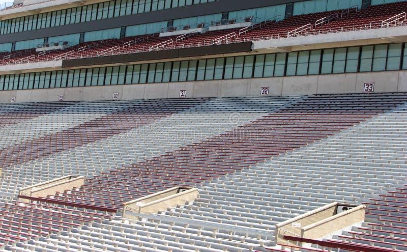 Assento do estádio fotografia de stock royalty free