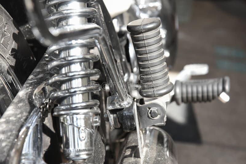 Assento para pés da motocicleta fotos de stock royalty free