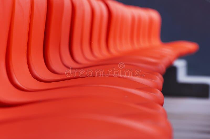 Assento vermelho foto de stock royalty free