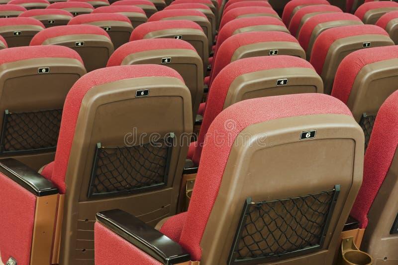 Assento vermelho fotos de stock