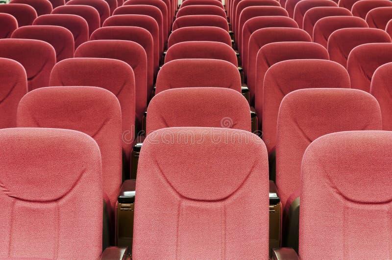 Assento vermelho foto de stock
