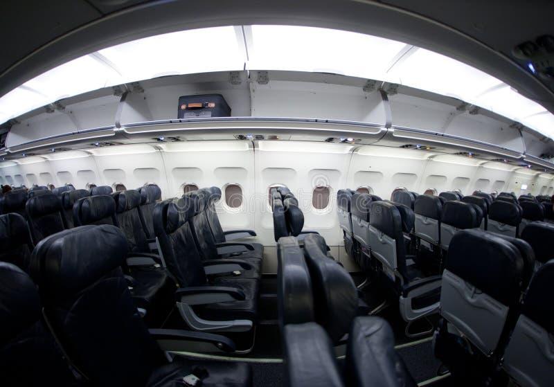 Assentos do avião fotos de stock