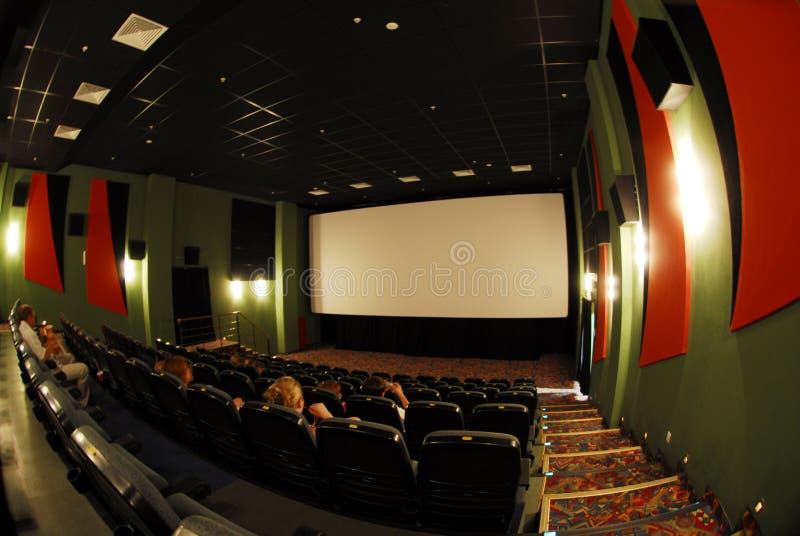Assentos do cinema fotos de stock