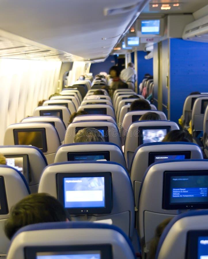 Assentos planos foto de stock