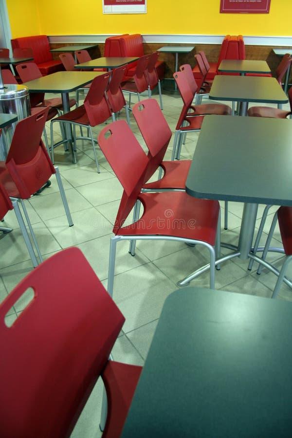 Assentos vermelhos foto de stock