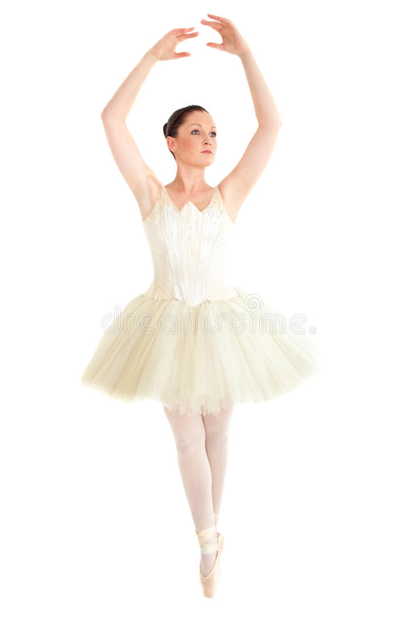 Download Assertive Ballerina Dancing On Points Stock Image - Image: 16347863