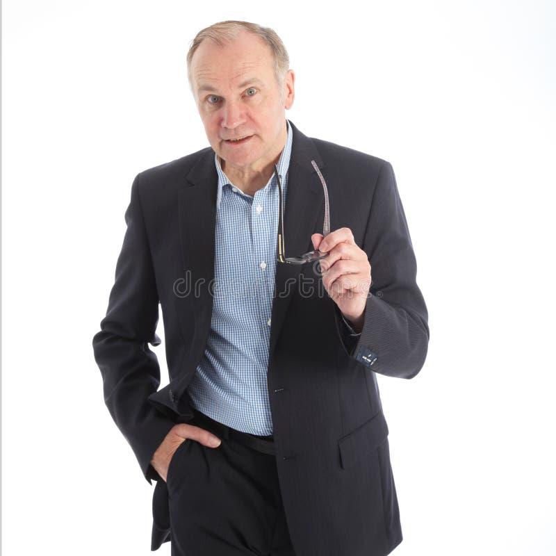Free Assertive Talkative Businessman Royalty Free Stock Image - 25847896
