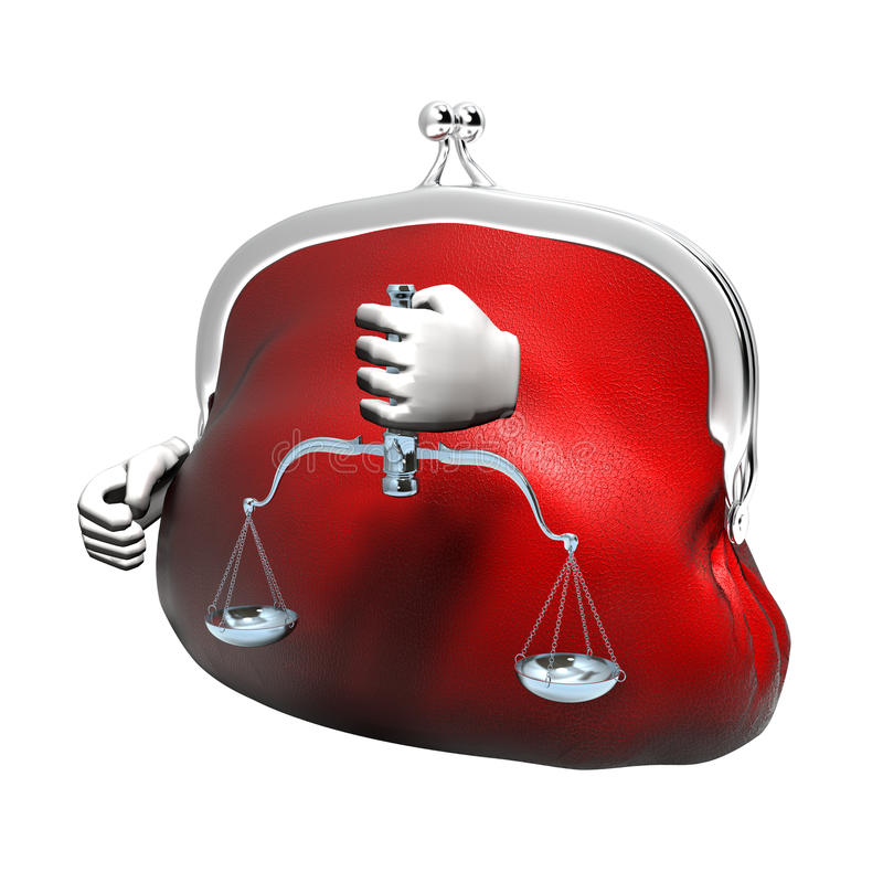 Download Assess weigh judge stock illustration. Illustration of purse - 34880681