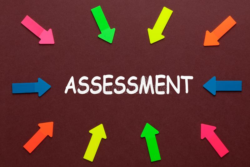 Assessment Management Concept royalty free stock images