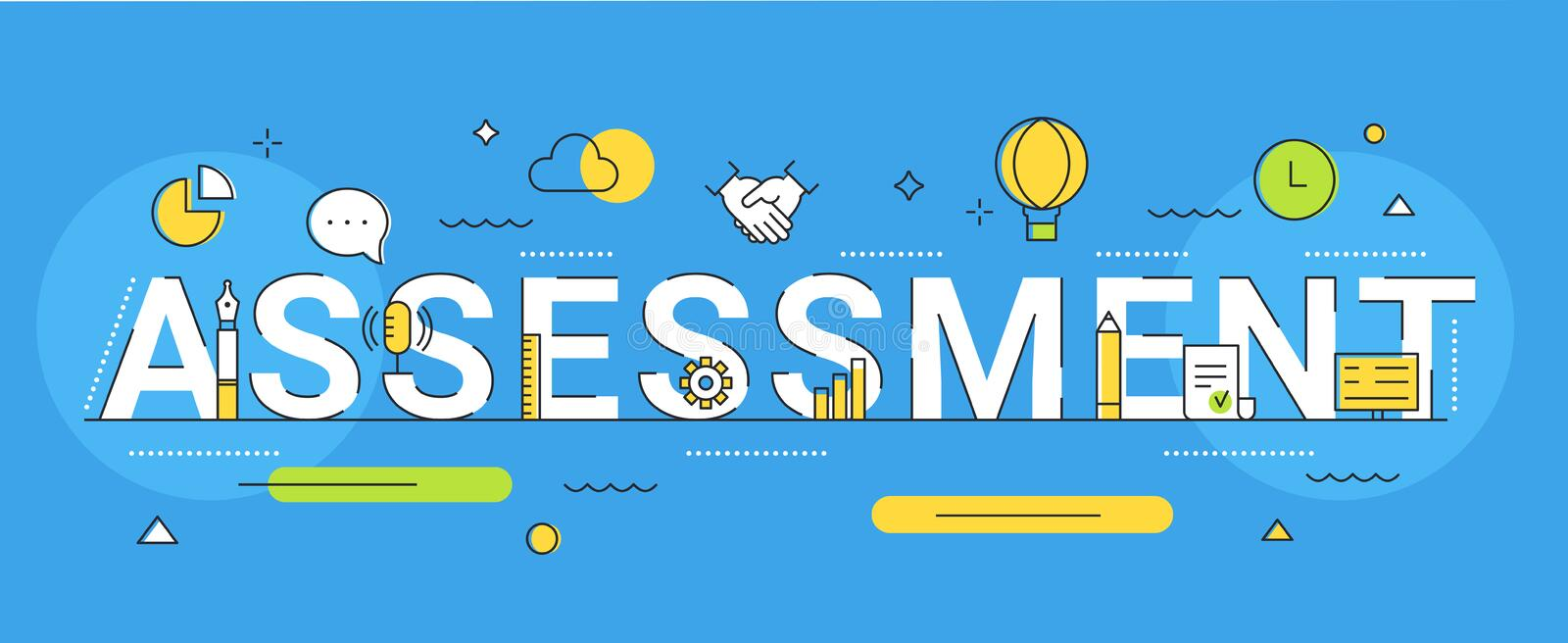 Assessment Icons Stock Illustrations – 1,483 Assessment Icons ...