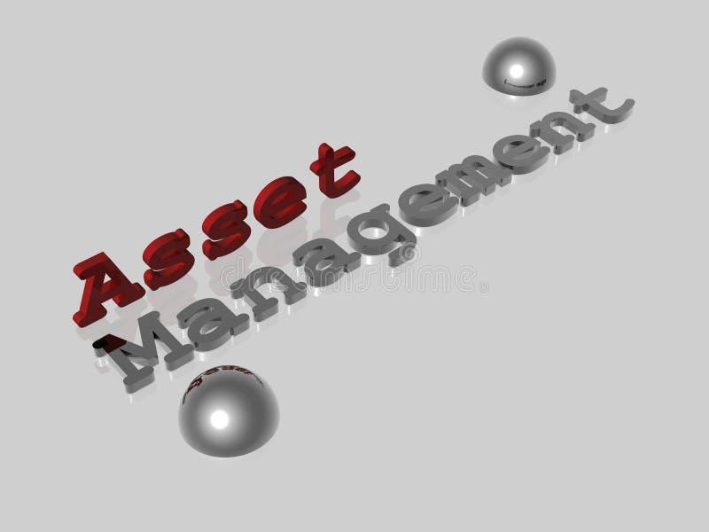 Asset Management. Illustration about Bussines Concepts - Asset Management - 3D stock illustration