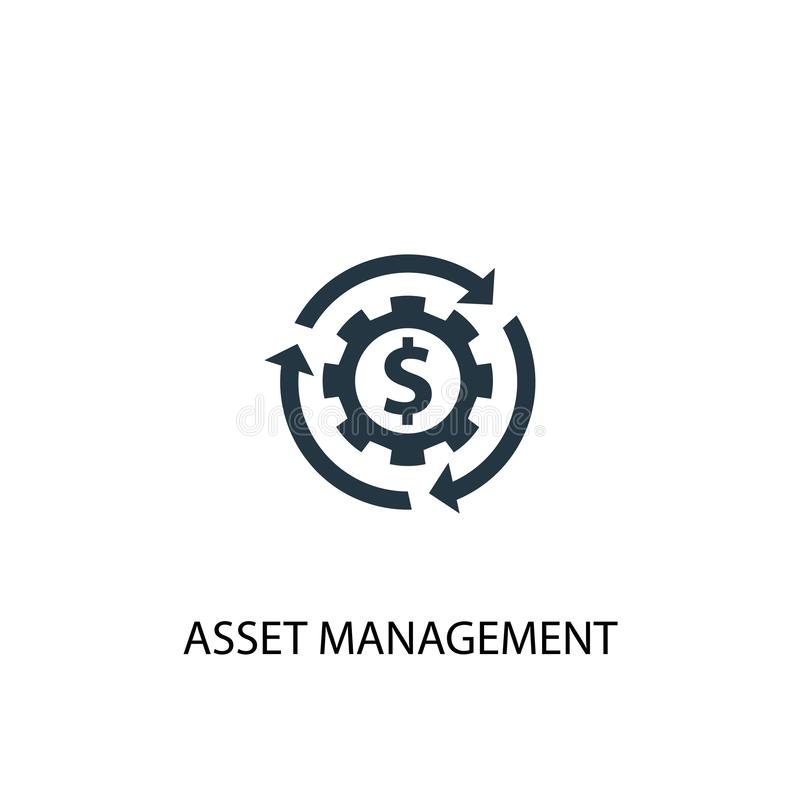 Free Asset Management Icon. Simple Element Royalty Free Stock Images - 158581069