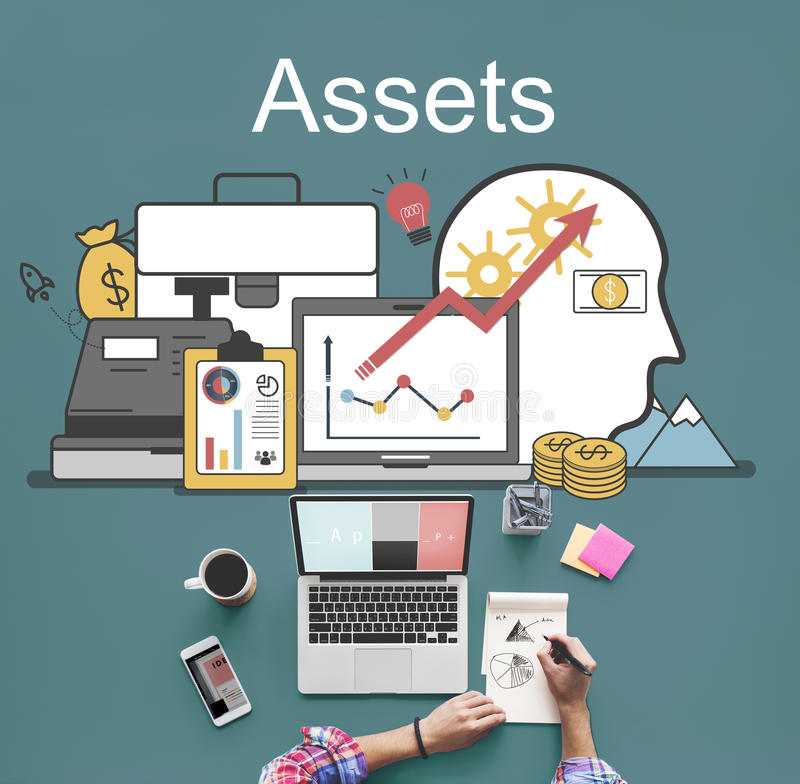 Assets Accounting Money Financial Concept stock photography