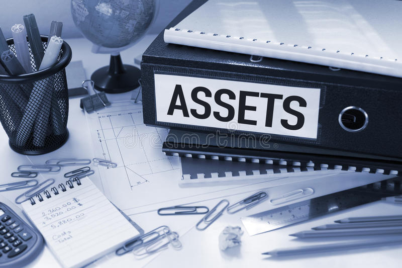Assets stock image