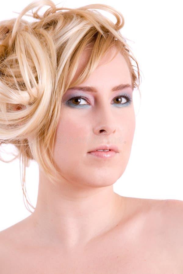 Assez blond photo stock