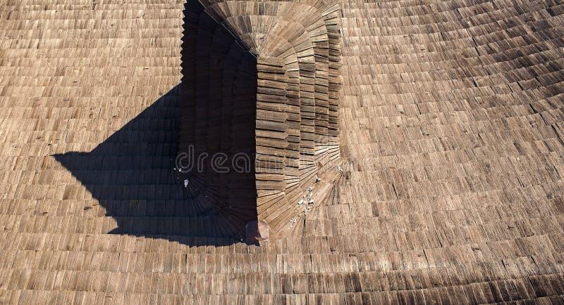 Assicella sul tetto immagini stock