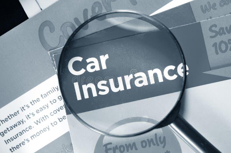 Assicurazione auto fotografie stock libere da diritti