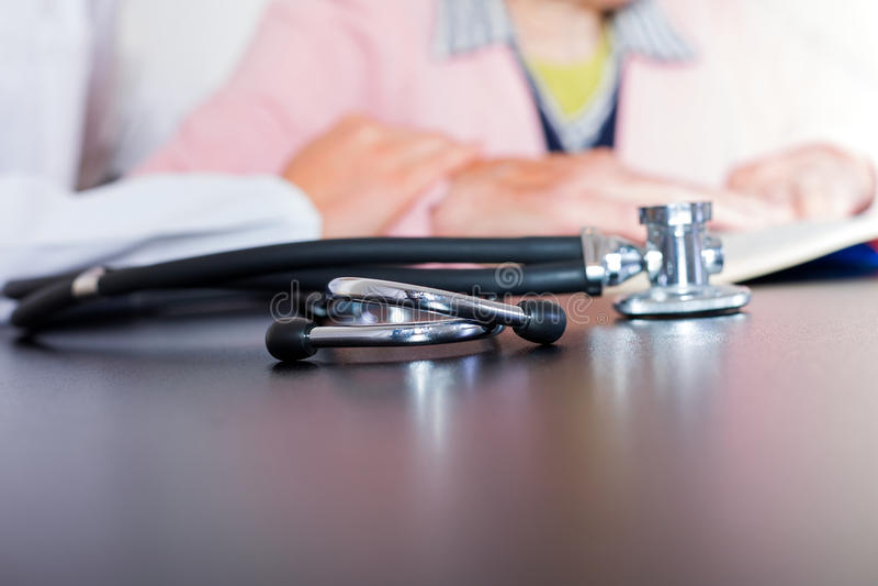 Assicurazione contro le malattie immagini stock