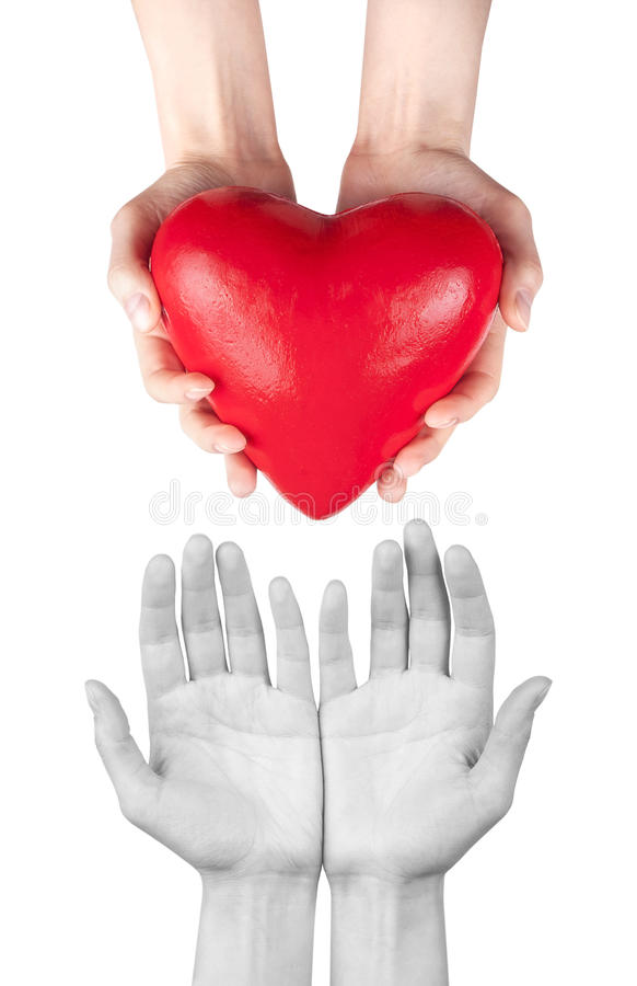 Assicurazione contro le malattie o concetto di amore fotografia stock