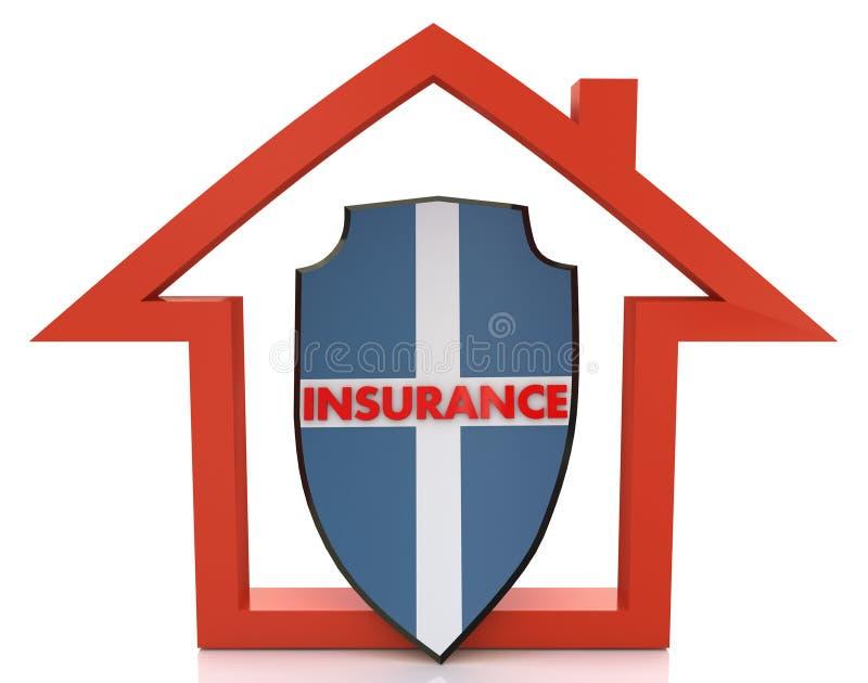 Assicurazione della Camera illustrazione vettoriale