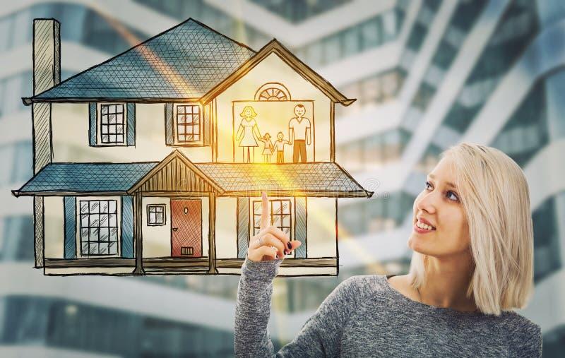 Assicurazione della famiglia immagini stock libere da diritti