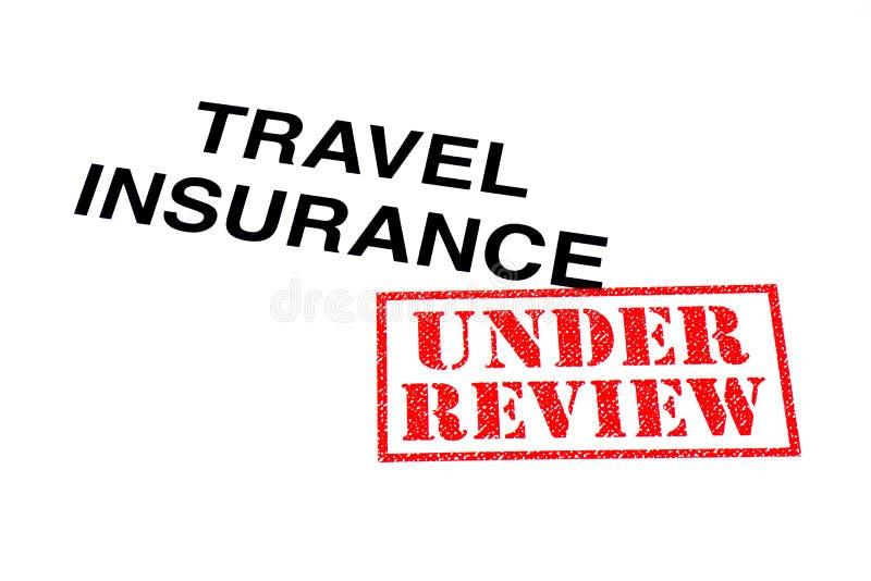 Assicurazione di viaggio allo studio fotografia stock