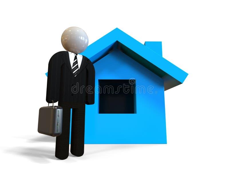 Assicurazione domestica illustrazione di stock