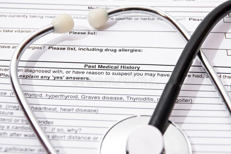Assicurazione-malattia immagine stock