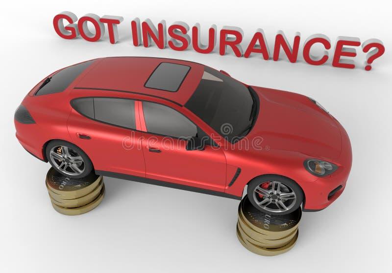 Assicurazione ottenuta? royalty illustrazione gratis